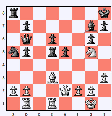 Online Chess Tactic Tuesday 24.3